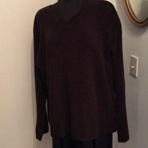 Croft & Barrow Dark Brown Sweater, XL